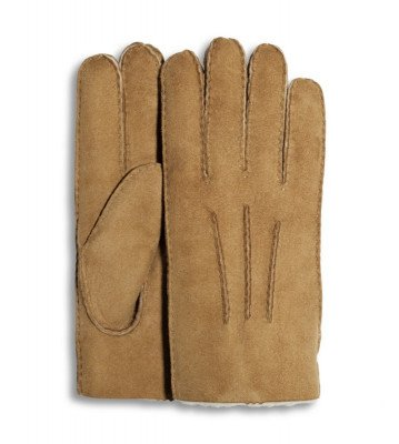 UGG UGG Glove With Gauge Points Cognac Heren Handschoenen
