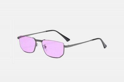 Blank-Sunglasses NL CABRIO. - Gungrey with purple
