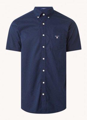 Gant Gant Regular fit overhemd met borstzak en logo