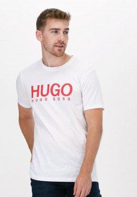 HUGO Witte Hugo T-shirt Dolive 10182493 01