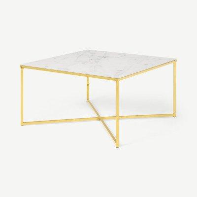 MADE.COM Alisma vierkante salontafel