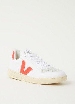 Veja Veja V-10 sneaker met logo