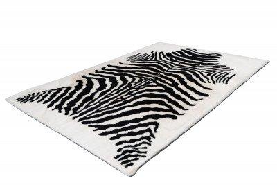 Kayoom Kayoom Vloerkleed 'Rabbit Animal' kleur zwart / wit, 120 x 160cm