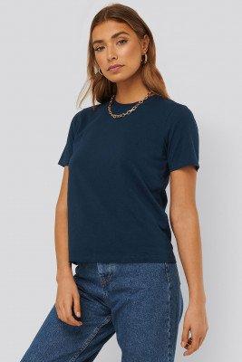 NA-KD Basic NA-KD Basic Basic T-Shirt - Blue