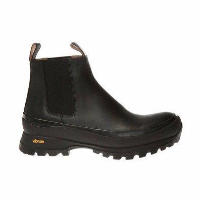 Jil Sander Leather platform boots