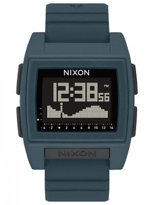 Nixon Nixon The Base Tide Pro Watch grijs