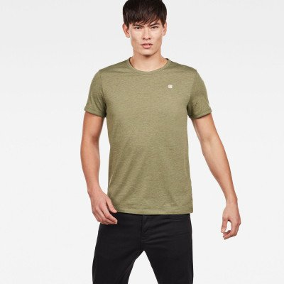 G-Star RAW T-shirts - Groen - Heren