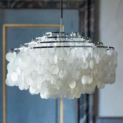 Verpan VERPAN Fun 10DM - hanglamp, chroom
