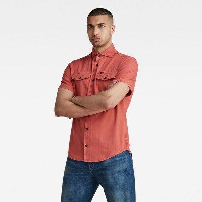 G-Star RAW Marine Service Slim Shirt - Rood - Heren