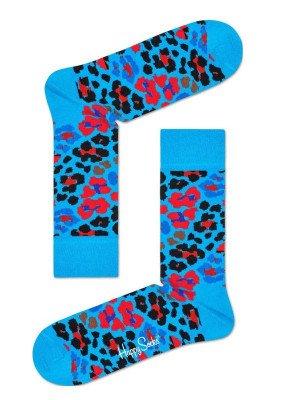 Happy Socks Happy Socks Multi Leopard MLE01-6300 Damessokken