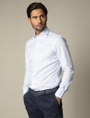 Cavallaro Napoli Cavallaro Napoli Heren Overhemd - Nosto Overhemd - Blauw