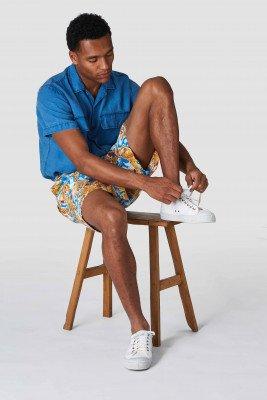 Kings of indigo Kings of Indigo - MIGUEL shorts Male - White