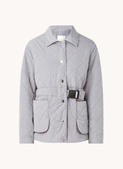 Remain Remain Loraine gewatteerde jas met doorgestikt dessin