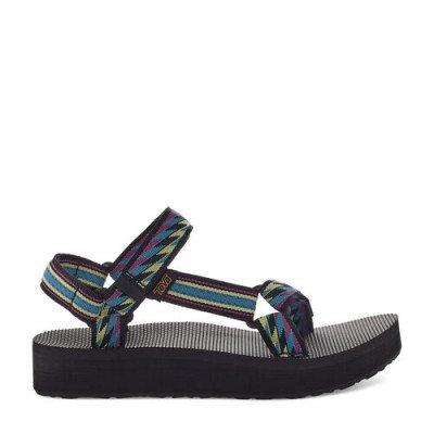 Teva Teva Midform Universal Sandalen, Zwart / Veelkleurig, Maat 36