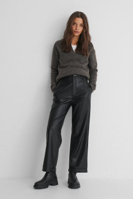 MANGO Camilla Trousers - Black