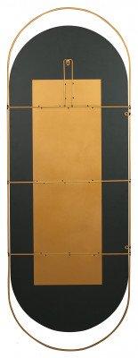 WOOOD WOOOD Spiegel 'Sanou' 168 x 60cm, kleur Antique Brass
