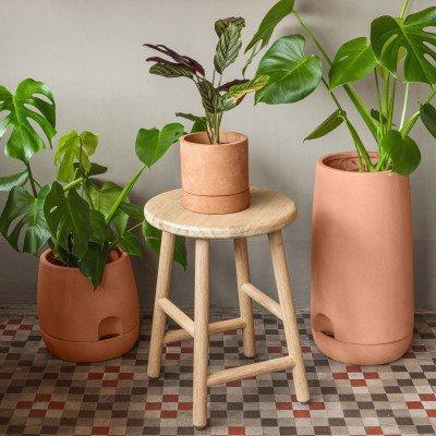 Kave Home Kave Home Pot 'Luigina' met zelfwatersysteem, 50 x 27cm