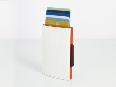 Ogon Designs Ogon Cascade Wallet White (orange)
