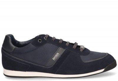 Hugo Boss Hugo Boss Glaze Low MX Donkerblauw Herensneakers