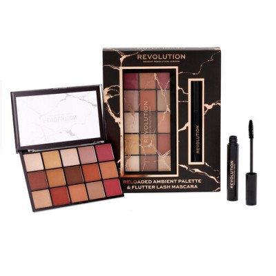 Makeup Revolution Makeup Revolution Reloaded Ambient Palette & Flutter Lash Mascara