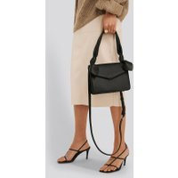 NA-KD Accessories Knot Envelope Crossbody Bag - Black
