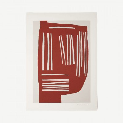 MADE.COM The Poster Club, Blush, print door Leise Dich Abrahamsen, 50 x 70 cm