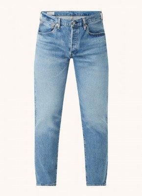 Levi's Levi's 501 Levisoriginal straight fit jeans met medium wassing
