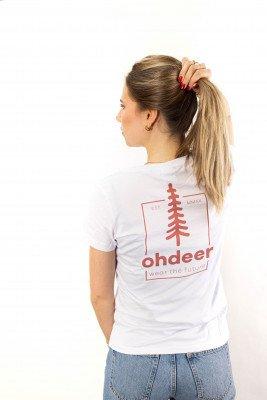 ohdeer NL Tree T-Shirt | Clear White
