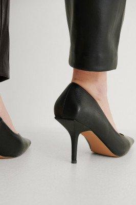 NA-KD Shoes NA-KD Shoes Squared Counter Pumps - Black