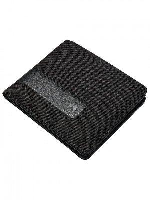 Nixon Nixon Showdown R Bi-Fold Zip Wallet zwart
