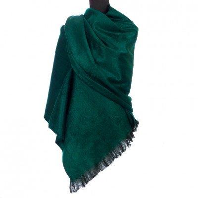 EcuaFina Alpaca sjaal of omslagdoek - Donkergroen - EcuaFina - Tip2021