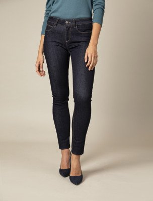 Cavallaro Napoli Cavallaro Napoli Dames Jeans - Sicilia Denim Jeans - Donkerblauw