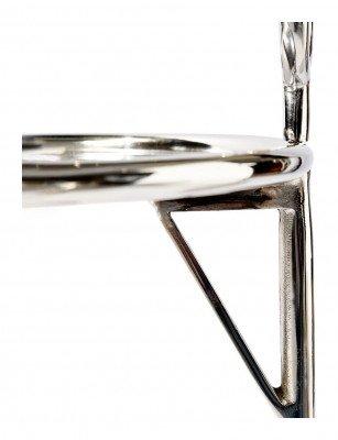 Rivièra Maison Rivièra Maison Bijzettafel 'Nolita' 35cm, kleur Silver