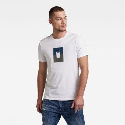 G-Star RAW Box Graw Slim T-Shirt - Wit - Heren
