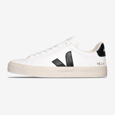 "Veja Campo Chromefree Leather ""White"""