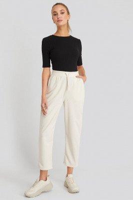 NA-KD Basic NA-KD Basic Basic Slip Pants - White