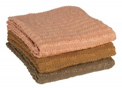BePureHome BePureHome Plaid 'Waving', kleur Fudge