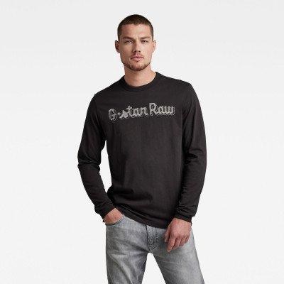 G-Star RAW Embro Graphic T-shirt - Zwart - Heren