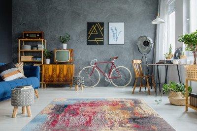 Kayoom Kayoom Vloerkleed 'Antigua' 80 x 150cm, kleur Multicolor