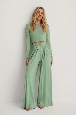 Trendyol Trendyol Loungewear Set - Green