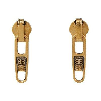 Balenciaga Zip Earrings