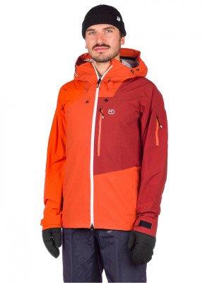 Ortovox Ortovox 3L Ortler Jacket oranje