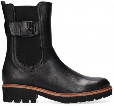 Gabor Zwarte Gabor Chelsea Boots 731.2