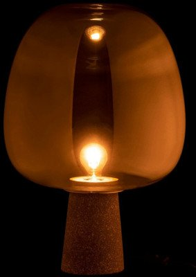 J-Line J-Line Tafellamp 'Livina' kleur Goud