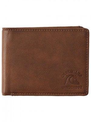 Quiksilver Quiksilver Slim Pickens Wallet bruin