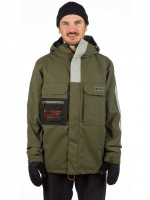 DC DC Defiant Jacket groen