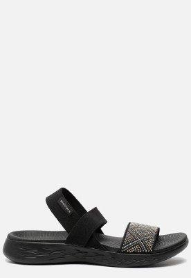 Skechers Skechers On the Go 600 Glitzy sandalen zwart