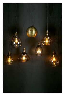 BePureHome BePureHome Hanglamp 'Simple' Large, kleur Antique Brass