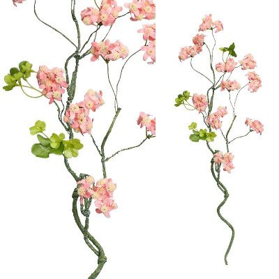 Firawonen.nl PTMD blossom bloem roze bloesemtak met bladeren