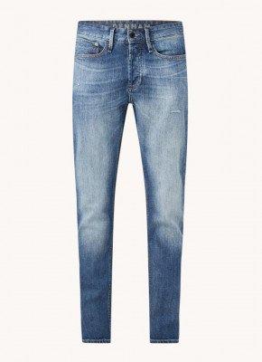 Denham Denham Bolt skinny fit jeans met medium wassing